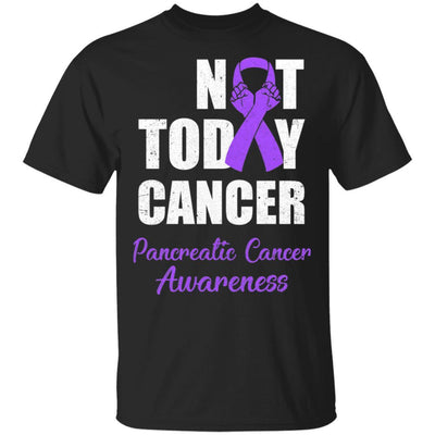 Support Pancreatic Cancer Awareness Purple Ribbon Not Today