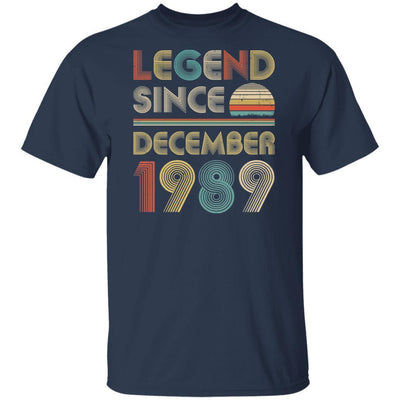 Legend Since December 1989 Vintage 30th Birthday Gifts