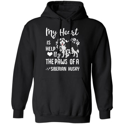 My Heart Is Held By The Paws Of A Siberian Husky Lover
