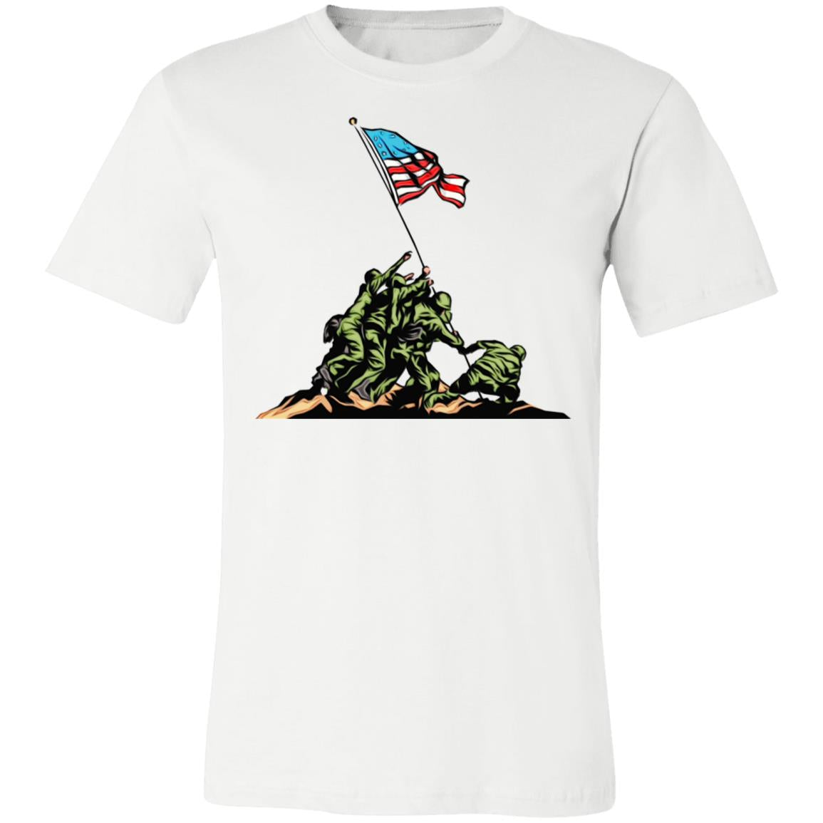 Memorial Day Vererans Day Soldier Jersey Short-Sleeve T-Shirt