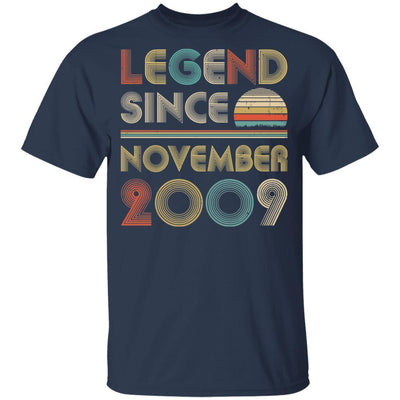 Legend Since November 2009 Vintage 10th Birthday Gifts Youth