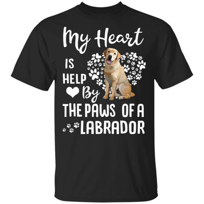 My Heart Is Held By The Paws Of A Labrador Lover