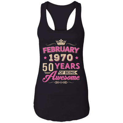 Vintage February 1970 50th Birthday Gift Being Awesome