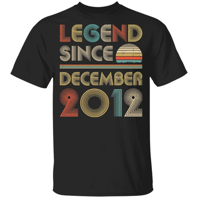 Legend Since December 2012 Vintage 7th Birthday Gifts Youth