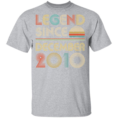 Legend Since December 2010 Vintage 9th Birthday Gifts Youth