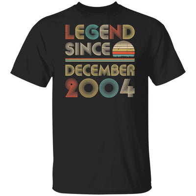 Legend Since December 2004 Vintage 15th Birthday Gifts