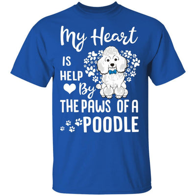 My Heart Is Held By The Paws Of A Poodle Lover