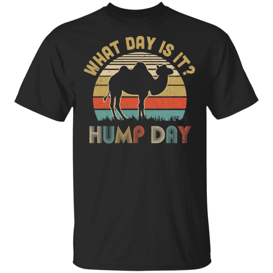 What Day Is It Vintage Funny Hump Day Camel