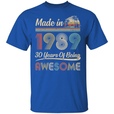 Vintage 1989 Made In 1989 30th Birthday Gift 30 Years Old
