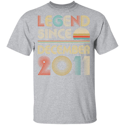 Legend Since December 2011 Vintage 8th Birthday Gifts Youth