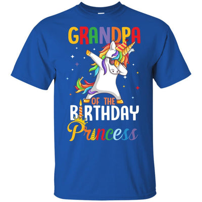 Grandpa Of The Birthday Girl Dabbing Unicorn Party