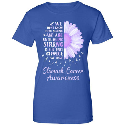 Being Strong Daisy Flower Periwinkle Stomach Cancer