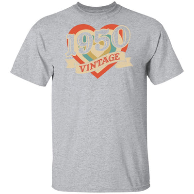 70th Birthday Gifts Classic Retro Heart Vintage 1950