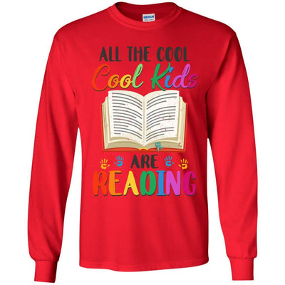 All The Cool Kids Are Reading Book Lover Gifts Youth