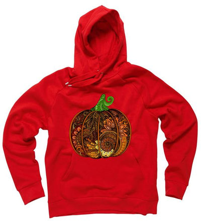 Abstract Pumpkin Thanksgiving Logo Hoodie