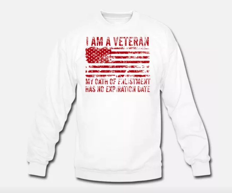 Unisex Crewneck Sweatshirt Veterans Day