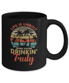 Vintage Life Is Unruly When You're Drinkin' Truly Mug