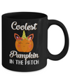 Kids Coolest Pumpkin In The Patch Halloween Costume Boys Mug