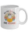 Retro Vintage Sunset All The Cool Kids Are Reading Mug