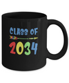 Class Of 2034 Grow With Me Pre-K First Day Of School Mug