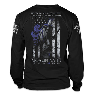 Die On Your Feet - Thin Blue Line Edition Long Sleeve