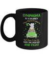 Lymphoma Awareness Is A Journey Mug