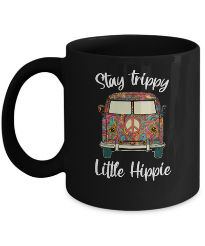 Stay Trippy Little Hippie Peace Sign Gifts For Hippie Mug
