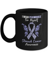 I Wear Periwinkle For Myself Stomach Cancer Awareness Gift Mug