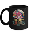 Retro Vintage Mommy Shark Doo Doo Doo Mug