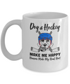 Dogs And Hockey Make Me Happy Humans Make My Head Hurt Mug