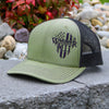 The Warrior Snapback Hat (OD Green/Black)