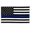 Printed American Thin Blue Line Flag