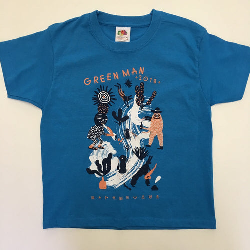 GM18 | Kids T-Shirt | Azure