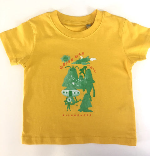 GM19 | Baby T-Shirt | Sunflower