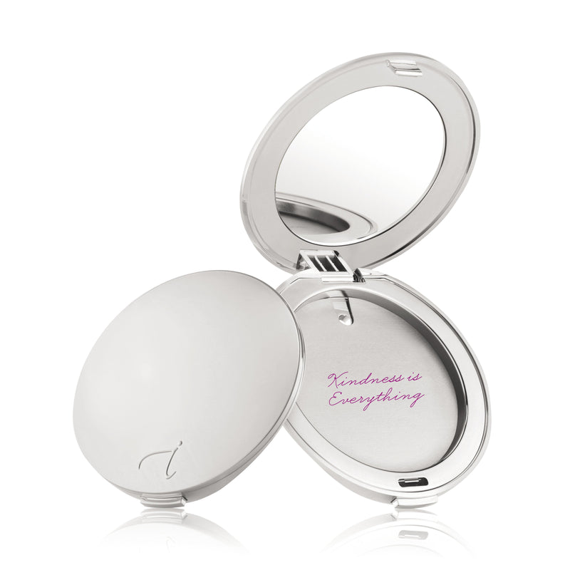 Silver Refillable Compact - jane iredale Mineral Makeup Australia