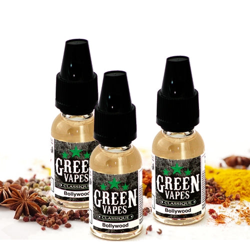E-liquide Bollywood Green Vapes (4414885003401)