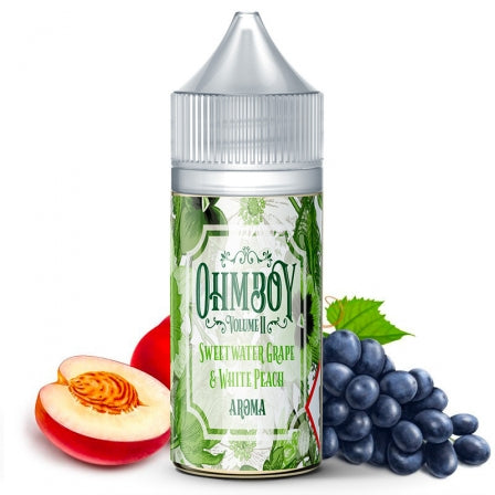 E-liquide Sweet Water Grape & White Peach Sel de Nicotine Ohmboy (5156468555913)