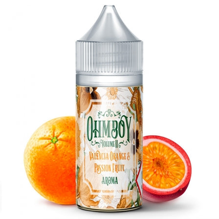 E-liquide Valencia Orange and Passion Fruit Sel de Nicotine Ohmboy (5156469178505)