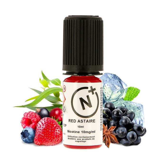 E-liquide Red Astaire Liquid Ice Sels de Nicotine T Juice (4420400840841)