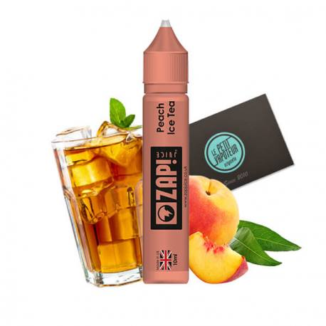 E-liquide Peach Ice Tea Zap Juice (4405112635529)