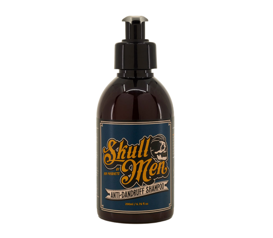 Champú anticaspa 200ml - Skull Men
