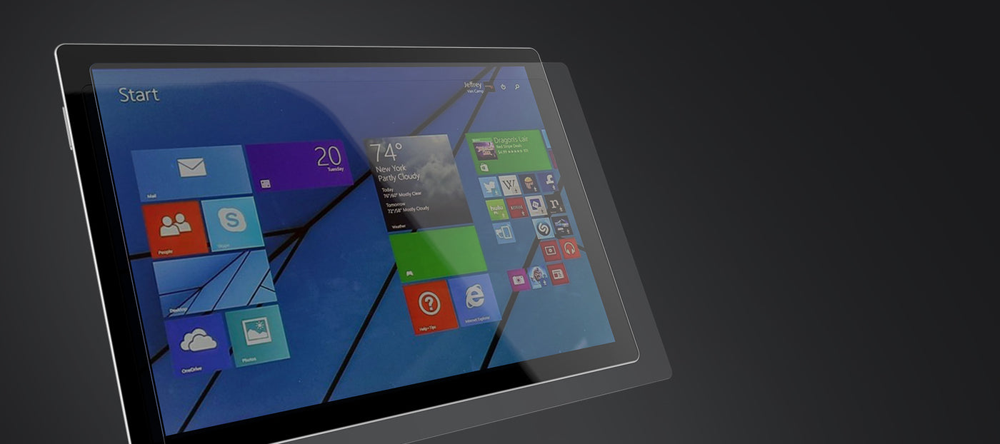 Surface Pro Screen Protectors - Brydge