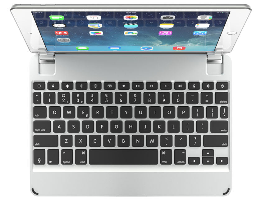 Brydge 9.7 Bluetooth Keyboard - Silver