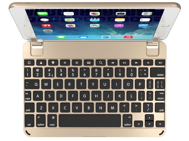 BrydgeMini Bluetooth Keyboard - Gold