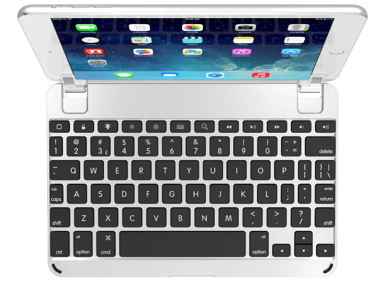 BrydgeMini Bluetooth Keyboard - Silver