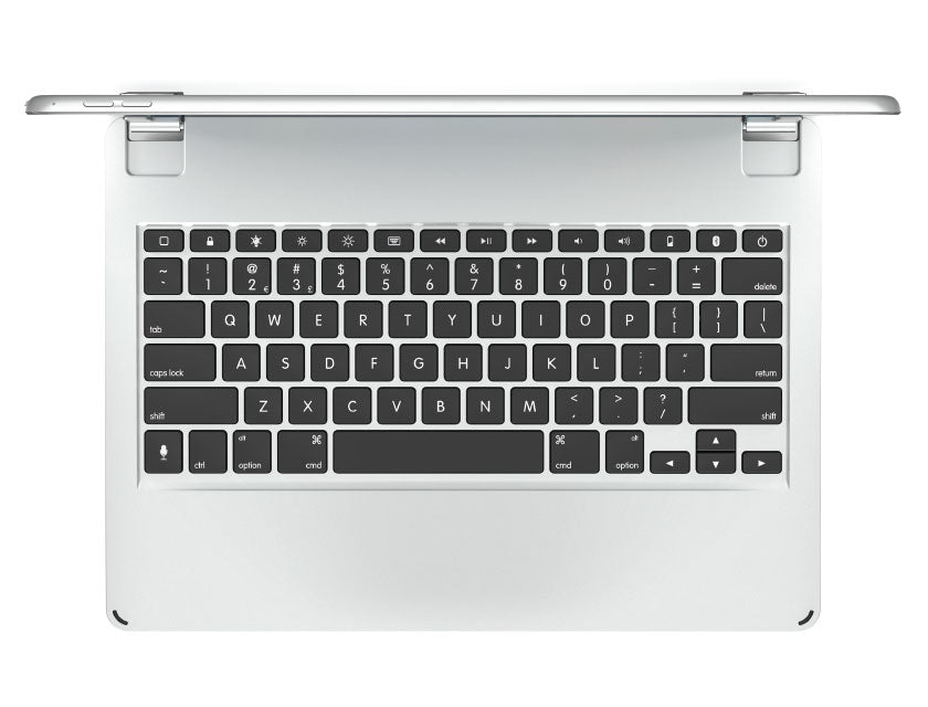 Brydge 129 Bluetooth Keyboard - Silver