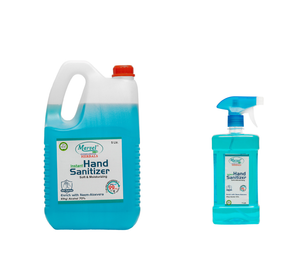 Hand Sanitizer (Liquid) - 5L Can and 1L Sprayer