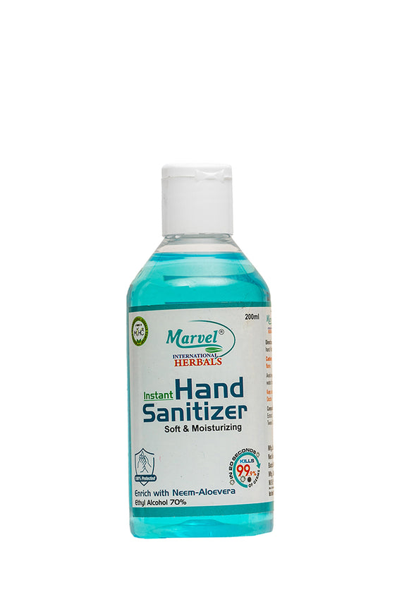Hand Sanitizer (Liquid) - 200ML (Pack of 5)