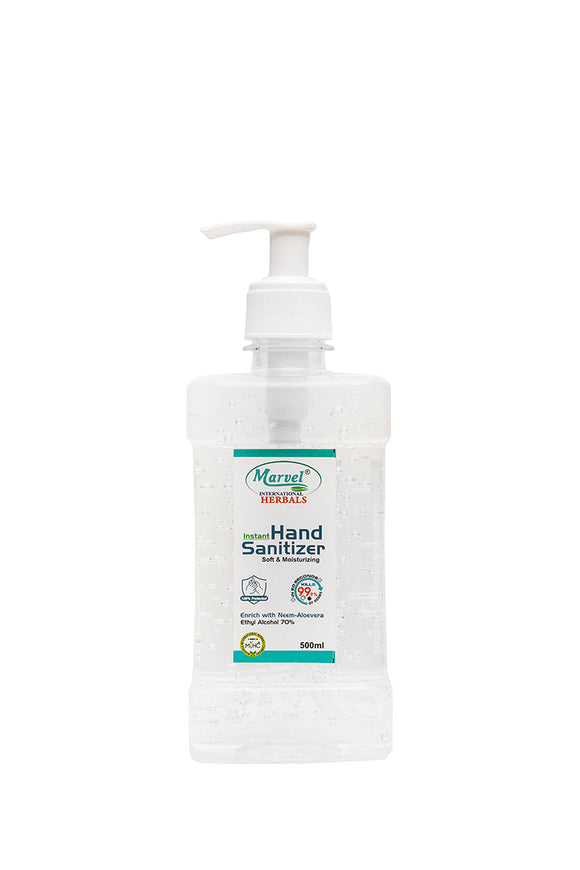 Hand Sanitizer (Gel) - 500ML (Push Pump)