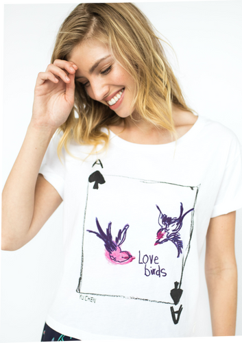 The Love Birds Brit Tee